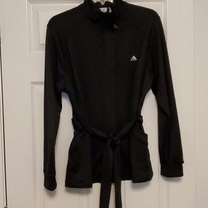 Adidas belted track jacket
